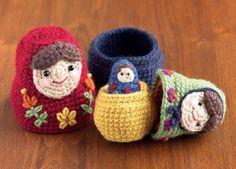 Nesting Dolls CAL: Matryoshka Pattern 1 – Large Doll | Petals to PicotsPetals to Picots