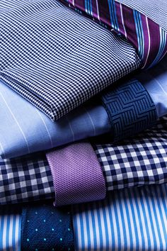 Mix and match ties and shirts for a business formal look #tiesdotcom #mensfashion #businessformal