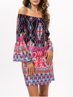 GET $50 NOW | Join RoseGal: Get YOUR $50 NOW!http://m.rosegal.com/print-dresses/off-the-shoulder-ethnic-style-759944.html?seid=b94qhm2k2pf1t7j19vpmluoja4rg759944