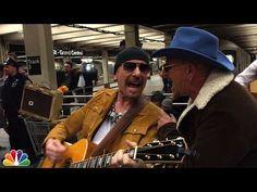 U2 si travestono e suonano in metrò per i passeggeri - Spettegolando