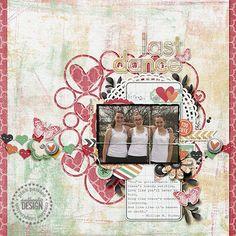 #papercraft #scrapbook #layout  Shabby Sugarland 12 x 12 Paper Pack