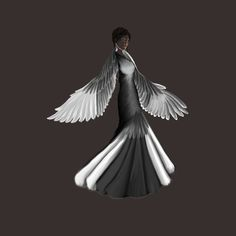 SPOILER ALERT - Katniss Everdeen's Mockingjay Dress by KVClinesmith on deviantART. One the best and most accurate ones I could find Katniss Everdeen, Heroes Of Olympus, Catching Fire, Mockingjay, Hunger Games, Supernatural, Deviantart, Jennifer Lawrence, Wedding Dress