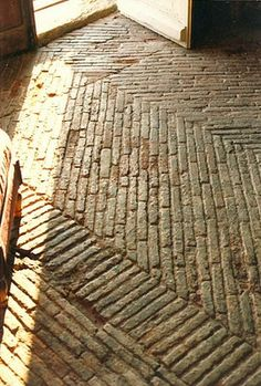 antique brick floor