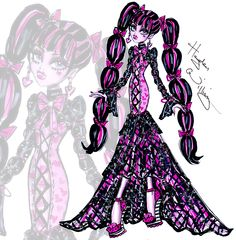 Monster High 'Fabulously Fangtastic' Draculaura by Hayden Williams