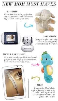 New Mom Must Haves // Technology
