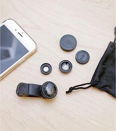 Kit objectifs pour smartphone