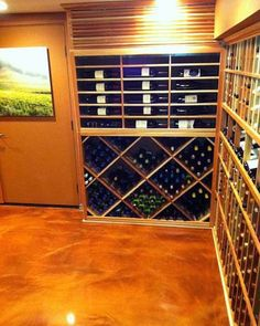 Diamond Bin Wine Racks at Custom Wine Cellars Pacific Palisades. Diamond  bin wine racks promote optimum wine aging. You may also choose other wine rack designs such as an X-Cube Wine Rack found here http://www.wineracksbycoastal.com/product.aspx?productID=106. Coastal Custom Wine Cellars  26222 Paseo Toscana San Juan Capistrano, CA 92675‎  California Office: +1 (949) 355-4376