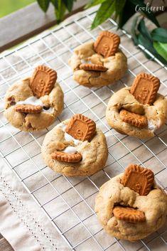 Biscoff Cookies, Smores Cookies, Cinnamon Cookies, Cute Desserts, Cookie Desserts, Dessert Recipes, Cokies Recipes, Refrigerated Cookie Dough, Cookie Shots