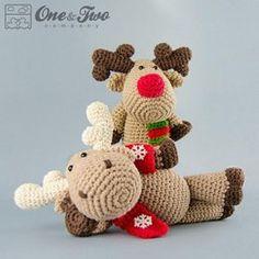 Reindeer / Moose Amigurumi