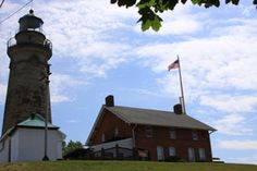 The tiny, gray ghost of a long past resident of the lighthouse hangs around this lighthouse and museum in northern Ohio.   With a melodious name like Fairport Harbor, you wouldn't think there would be any bloodcurdling ghosties or goulies creeping up out of the Lake Erie waters into this small town...