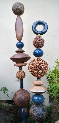 Nessy Ceramics Totems