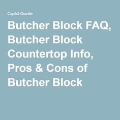 1000 ideas about butcher blocks on pinterest butcher