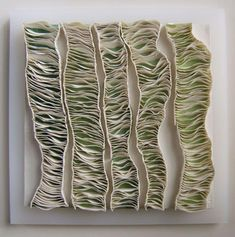 Fenella Elms - Ceramics Artist - Wall Mounted