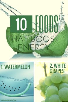 10 Fantastic Foods That Boost Energy. If you yearn to feel more alert during your working day, there are small but powerful changes that you can make to your diet. Here are ten of the most effective energy-boosting foods.