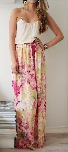 love this maxi skirt