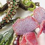 """BEADED JEWELRY    First Place   """"Mistress Of Copper Mount: Enchanted Glade Necklace""""   Svetlana Makarova"""