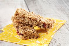 No-Bake Peanut Butter Granola Bars | Recipe of the day | Kosher Recipes - Joy of Kosher with Jamie Geller - Jewish Recipes and Menus