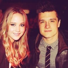 Jennifer Laurence and Josh Hutcherson