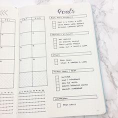 Bullet Journal February Set Up & Template
