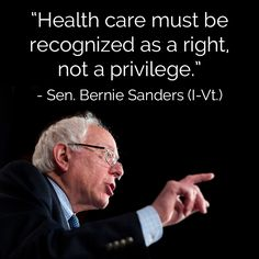 Lally's Alley: MEMORABLE QUOTES FROM BERNIE SANDERS