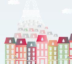 Paris laminas paris laminas a4 a4 imprimibles por Ilustracionymas