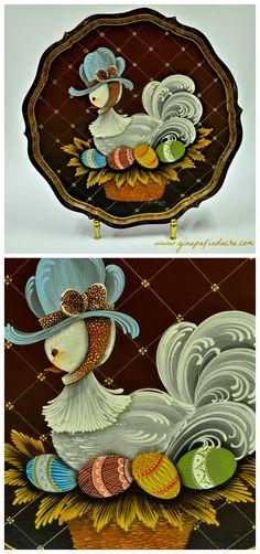 Atelier Gina Pafiadache: Pata com ovos coloridos!