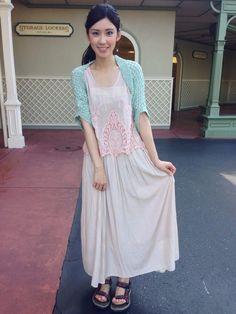 ちなみにロケの衣装はこんな感じでした! #marblee