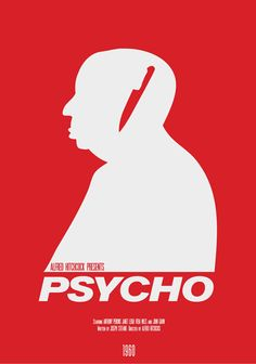"""Part of the Modern Hitchcock series  Inspired by my love of Hitchcock films  Designs include """"The Birds"""", """"Vertigo"""", """"North By Northwest"""", """"Dial M For Murder"""", """"Rear Window"""", """"Psycho"""""""