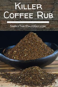 Killer Coffe Rub made with a couple @teenytinyspice blends. It's great for red meat, chicken, pork and anything else your heart desires.