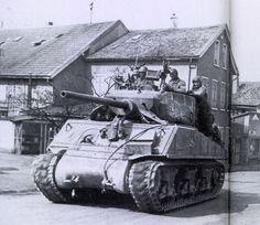 sherman tank -