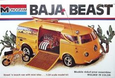 Tom Daniels Model Car Kits | And check out this funky 1:32 scale US90 aka Leap Hog with upswept ...