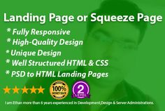 design responsive landing page for your business