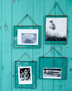 The glass front and back make these frames great for photographs or other precious keepsakes like postcards, concert tickets and drawings. They look great grouped together in a range of sizes and orientations. You will really be able to show off your artwork and family memories around your home. They are perfect for any room in the house and your friends and family will love them as gifts.