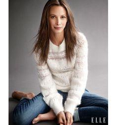 Christy Turlington Burns Fashion Photos - Christy Turlington Burns Calvin Klein Campaign Quotes - Elle