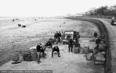Photo of Parkgate, Loading Mussels 1939 from Francis Frith Liverpool Home, Great British, British History, Vintage Photography, Old Photos, Britain, Past, How To Memorize Things, England