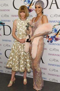 Let's talk about Rihanna's revealing CFDA dress - Vogue Australia