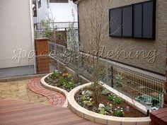 洋風ガーデン Persian Pattern, Rooftop Garden, Pathways, Backyard, Exterior, Fire, Landscape, Green, Flowers