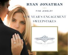 Ryan Jonathan fans - we are thrilled to announce a new contest celebrating Holiday/New Year's engagements. Click through for a chance to win our Luna solitaire diamond ring, valued at $3,000, delivered in time for a romantic New Year's Eve proposal!