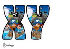 Piraci: Okrągłe litery i cyfry Dzień postaci z bajek Litery i cyfry do tworzenia napisów Piraci Postacie Boys, Fictional Characters, Art, Lyrics, Baby Boys, Art Background, Kunst, Performing Arts, Senior Boys