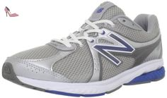 New Balance - Mens 665 Cushioning Walking Shoes, UK: 11 UK - Width 4E, Silver with Blue - Chaussures new balance (*Partner-Link)