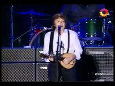 Paul McCartney All my loving / My love / Dance Tonight / Something Argentina 2010