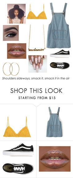 """""""🍋LEMONADE🍋"""" by cocochanel73 ❤ liked on Polyvore featuring SHE MADE ME, Chicnova Fashion, Vans and Pernille Corydon"""