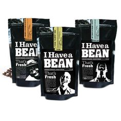 I Have a Bean coffee #coffee #beans #packaging