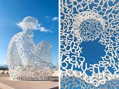 Nomade sculpture by Jaume Plensa