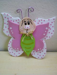 Rubber eva creative ideas for crafting - Colorful Decoration Diy For Kids, Crafts For Kids, Arts And Crafts, Foam Crafts, Paper Crafts, Felt Hair Accessories, Butterfly Crafts, Decorate Notebook, Adult Crafts