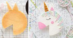 Cake Decorating Techniques, Cake Decorating Tips, Unicorn Birthday, Unicorn Party, Easy Unicorn Cake, Cake Designs For Kids, Cake Shapes, Love Cake, Cute Cakes