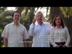 Yunes impuso  a su hijo de candidato en Veracruz: AMLO, Cuitlahuac García