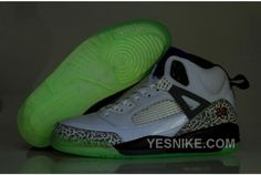 cheaper 16052 1bd56 Discount Code For 2012 Air Jordan Spizike Retro Mens Shoes Glowing White  Black Blue from Reliable Big Discount! Discount Code For 2012 Air Jordan  Spizike ...