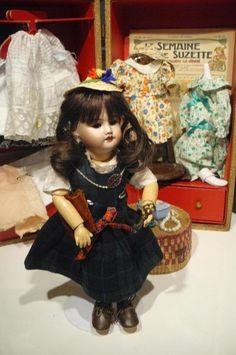Antique Original Bleuette SFBJ 60 France Bisque Head French Doll Box | eBay