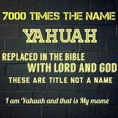 Speak it. Let them know the truth. Lord and God mean BAAL! Bible Teachings, Bible Scriptures, Hebrew Names, Biblical Hebrew, Black Hebrew Israelites, Happy Sabbath, Learn Hebrew, Bible Truth, Torah